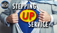 Stepping Up Service: Connecting the Dots